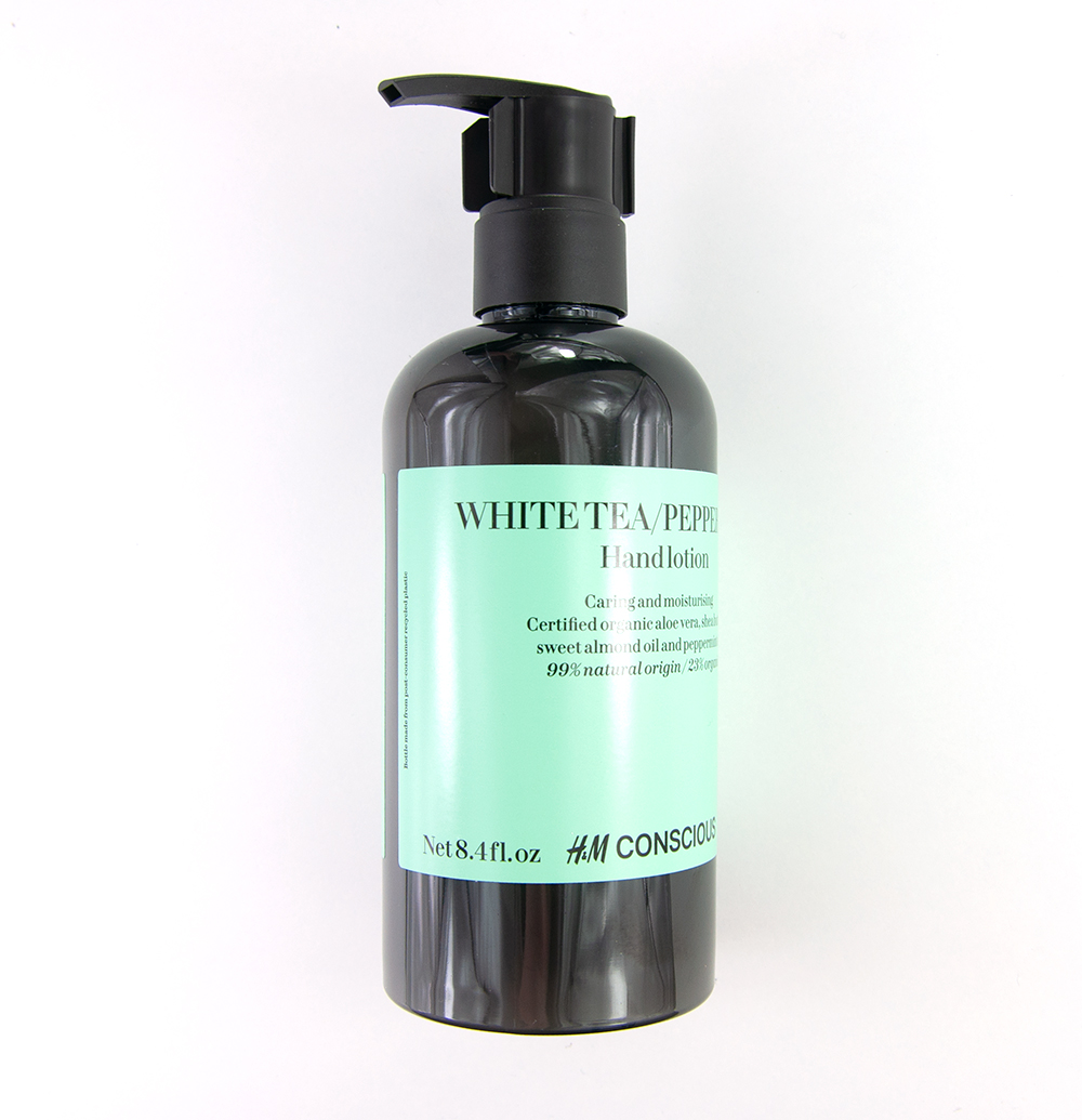 H&M Conscious Hand Lotion White Tea & Peppermint