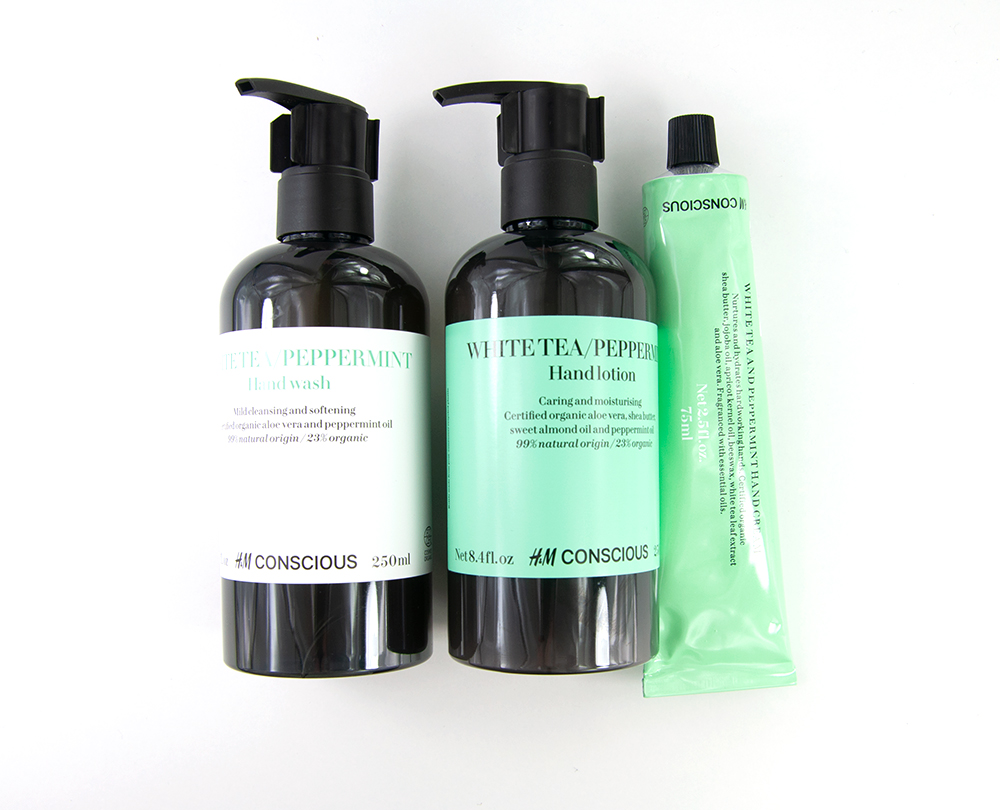 H&M Conscious Hand Wash White Tea & Peppermint