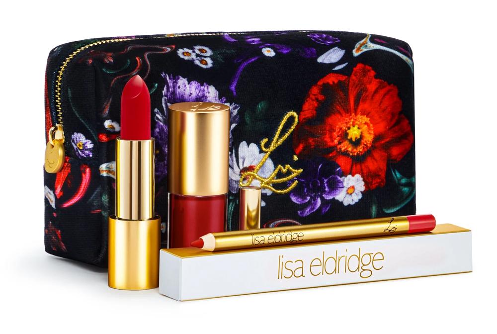 Lisa Eldridge Velvet Ribbon Fantasy Floral Lip Kit