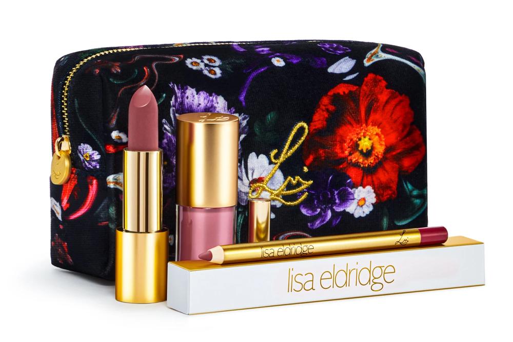 Lisa Eldridge Velvet Beauty Kit / Fantasy Floral Lip Kit