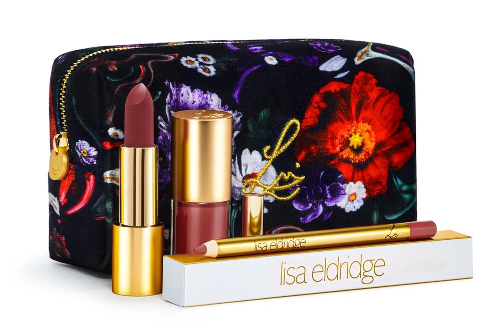 Lisa Eldridge Velvet Blush Kit / Fantasy Floral Lip Kit
