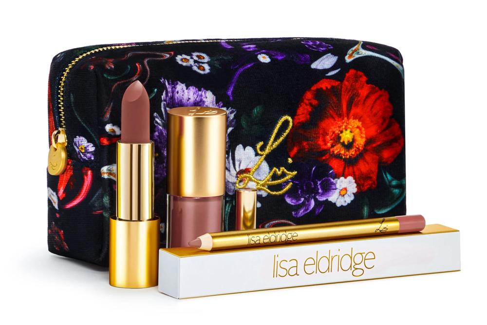 Lisa Eldridge Velvet Muse Kit / Fantasy Floral Lip Kit