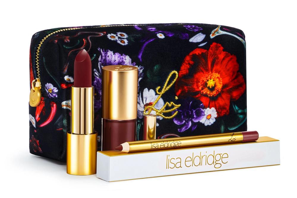 Lisa Eldridge Velvet Myth Kit / Fantasy Floral Lip Kit