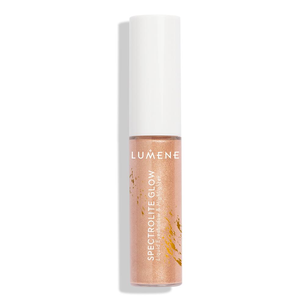 Lumene Spectrolite Glow Liquid Eyeshadow Highlighter Ice Gold