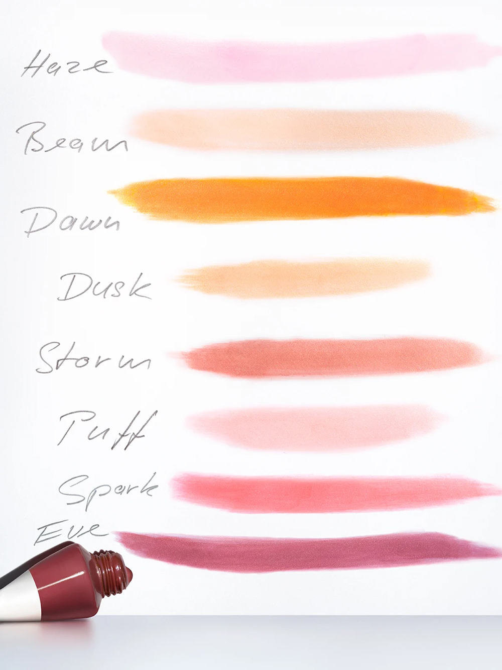 Glossier Cloud Paint Swatches
