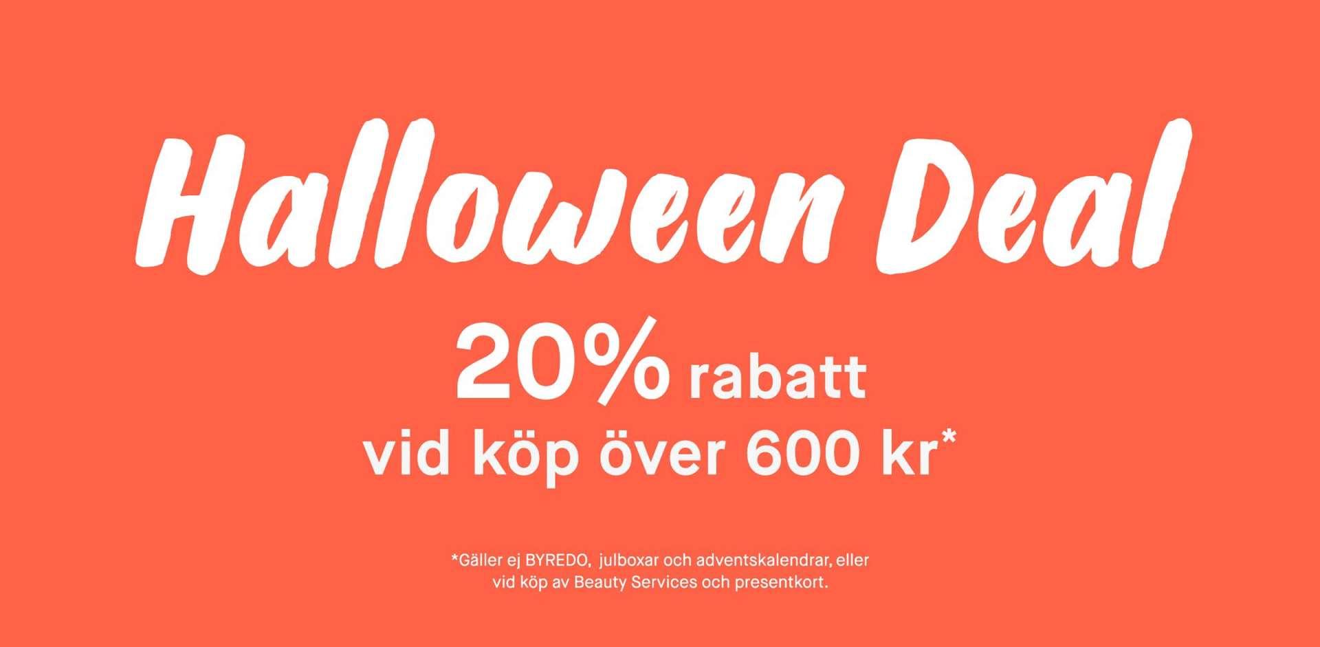 KICKS 20% rabatt vid köp över 600 SEK