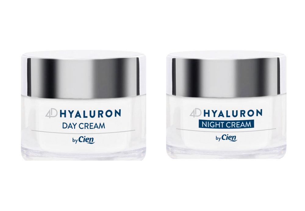 Cien 4D Hyaluron Day Cream & Night Cream