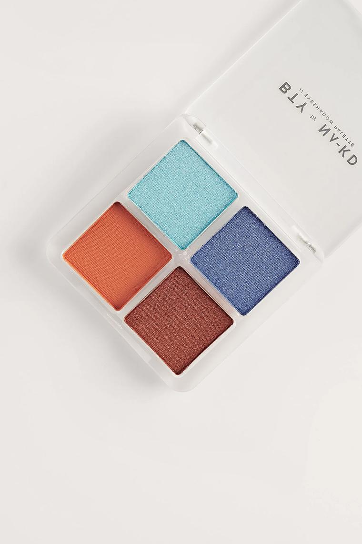 BTY by NA-KD Eyeshadow Palette Blue