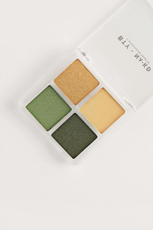 BTY by NA-KD Eyeshadow Palette Green