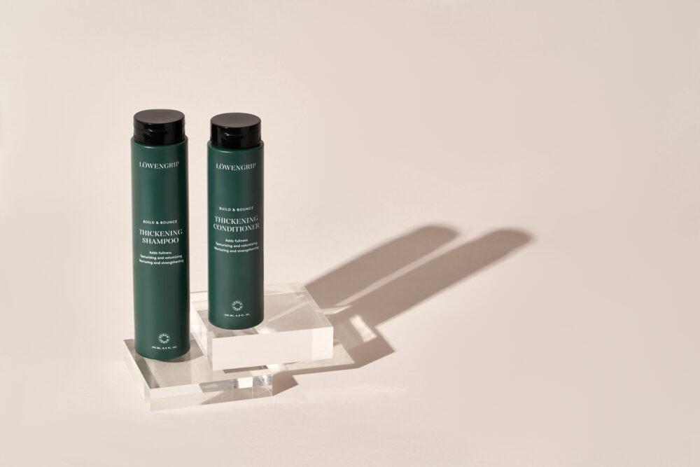 Nyhet! Löwengrip Build & Bounce — Thickening Shampoo & Conditioner