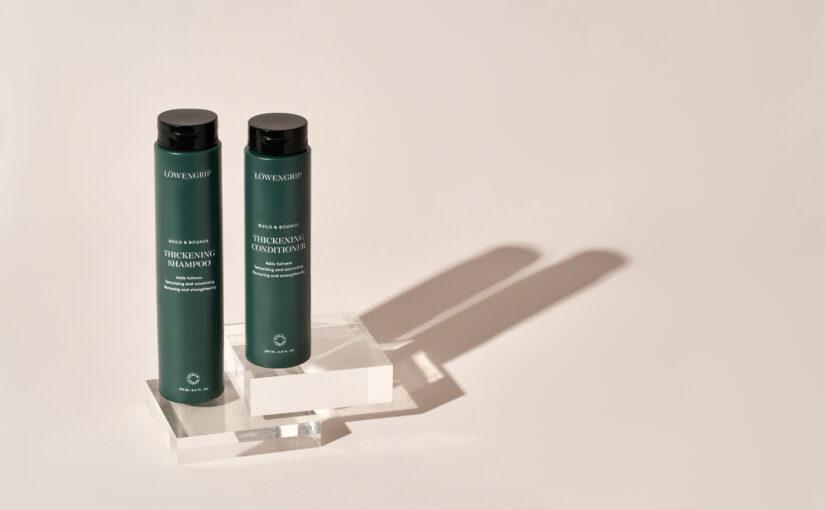 Nyhet! Löwengrip Build & Bounce Thickening Shampoo & Conditioner