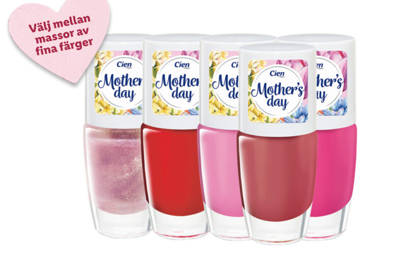 Cien Mother's Day Nail Polish i butik v.21