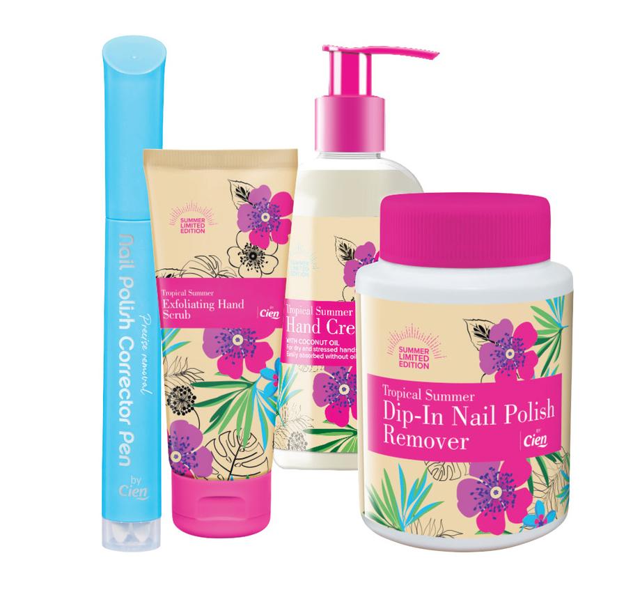 Cien Tropical Summer Hand Care