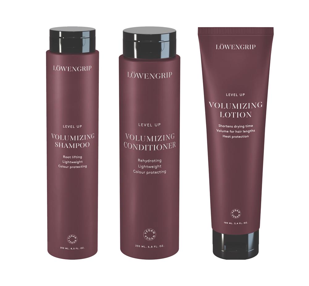 Löwengrip Level Up Volumizing Shampoo, Conditioner & Lotion