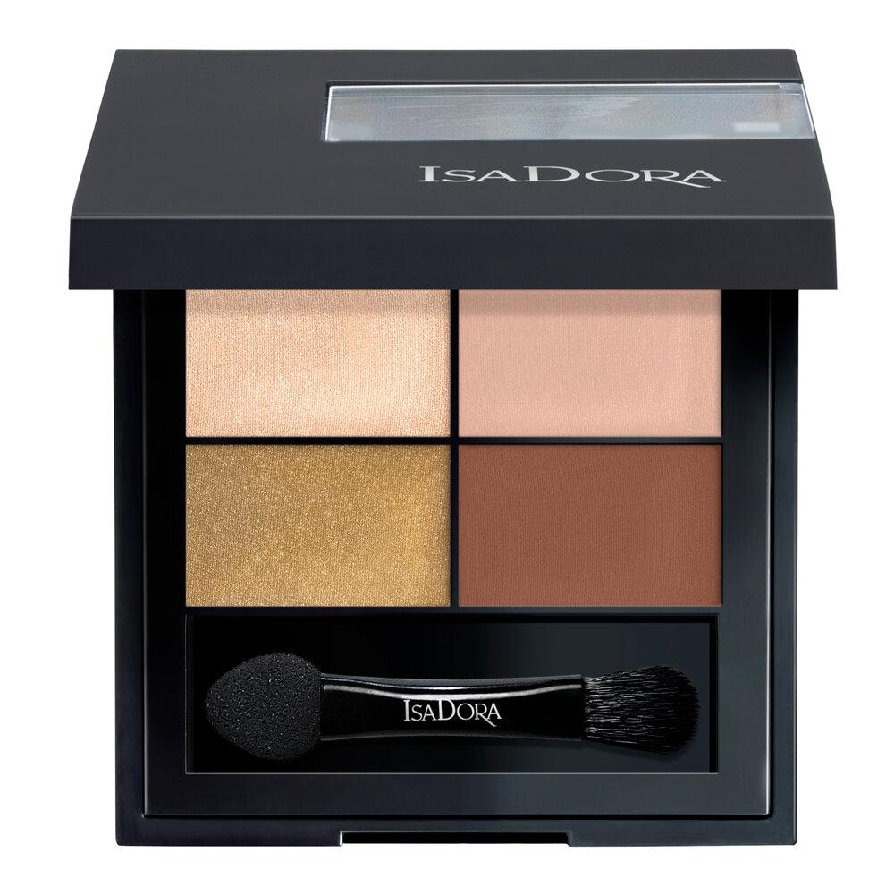 IsaDora Eye Shadow Quartet 05 Rose Glam