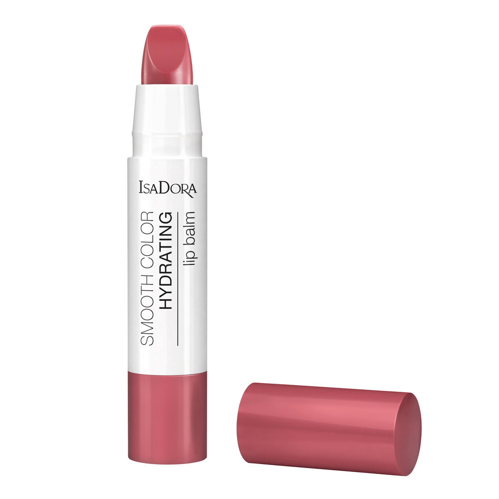 IsaDora Smooth Color Hydrating Lip Balm 55 Soft Pink