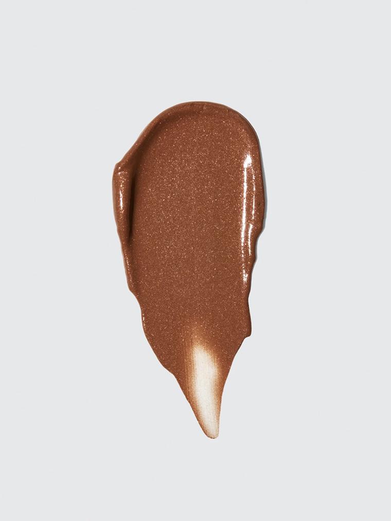 Heat Swatches Glossier Solar Paint luminous bronzer gel crème