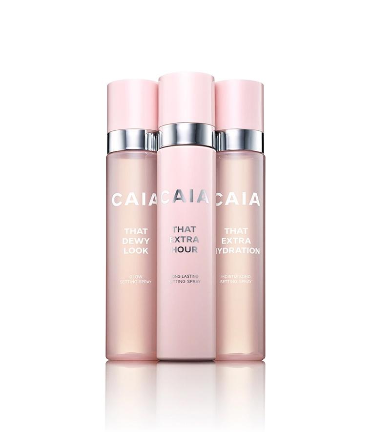 CAIA Setting Spray Trio