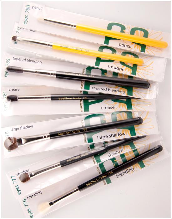 Bdellium Tools Eye Brushes — Studio & Maestro