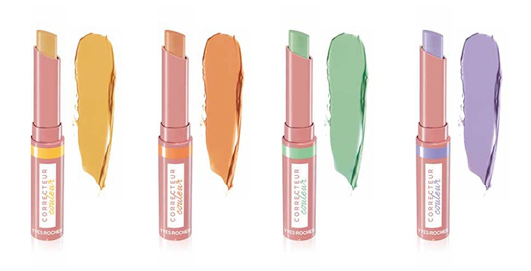Yves Rocher Color Correcting Concealers