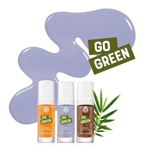 Yves Rocher Go Green Nail Polishes