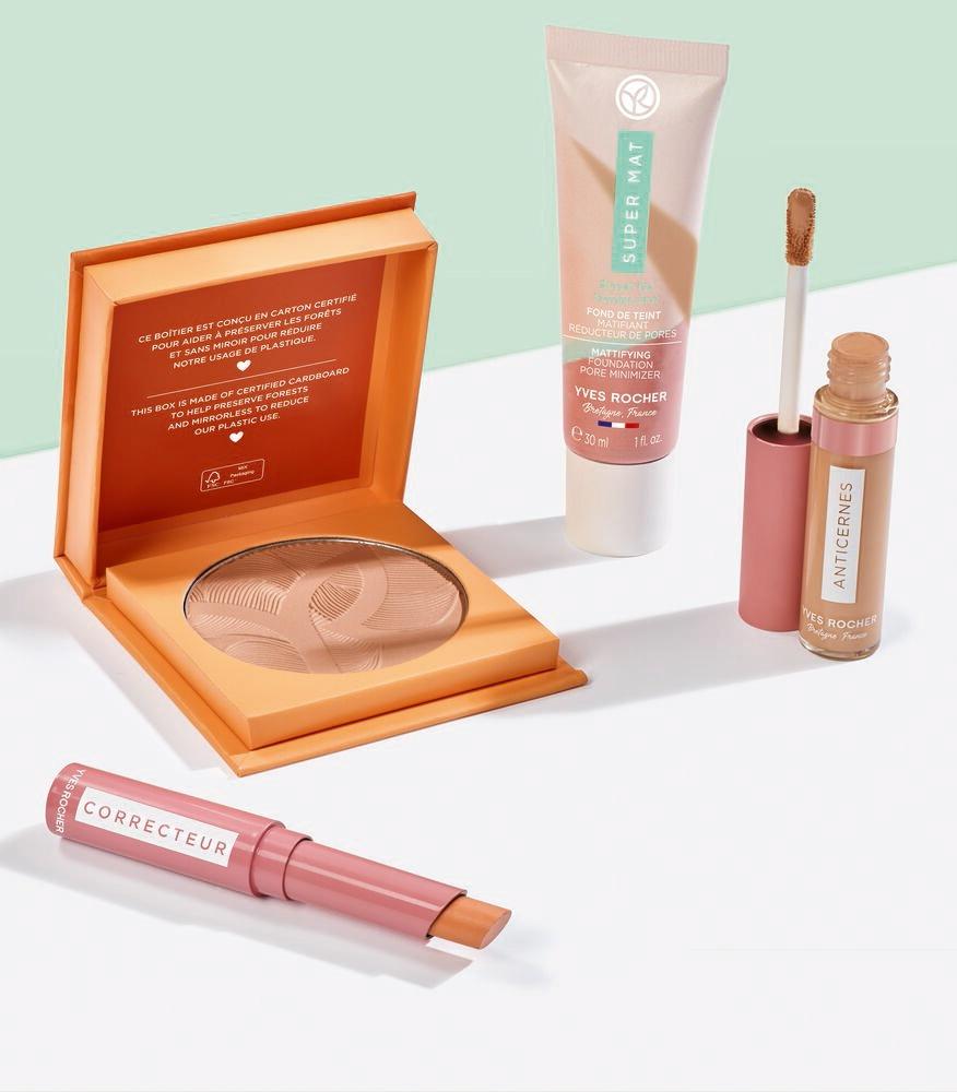 Yves Rocher lanserar ett nytt makeupsortiment